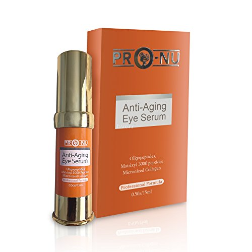 Anti-Aging Best Eye Serum To Reduces Puffiness,Wrinkles,Dark Circles, Crow's Feet & Bags with with Oligopeptides + Matrixyl 3000 Peptides + Micronized -