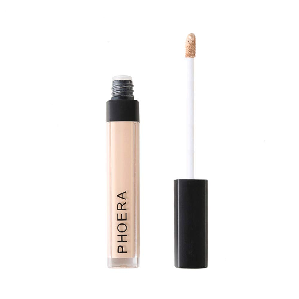 LIULIULIUPHOERA High Definition Foundation Makeup Concealer Liquid Moisturizer Conceal HD