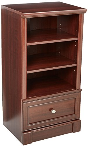 "Sauder 411861 Palladia Technology Pier, L: 21.93"" x W: 17.32"" x H: 42.24"", Select Cherry finish from Sauder"
