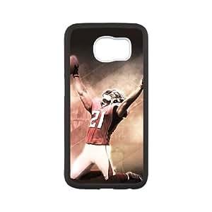 Atlanta Falcons Samsung Galaxy S6 Cell Phone Case White 218y3-145143