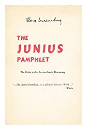 The Junius Pamphlet: The Crisis in the…