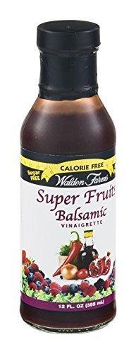 Walden Farms Calorie-Free Super Fruit Balsamic Vinaigrette Dressing 12 Pack