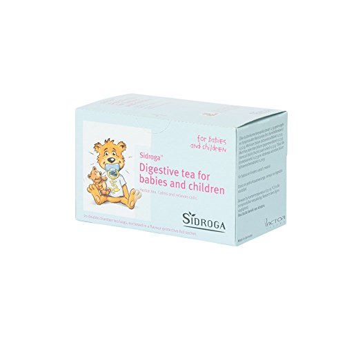 Sidroga Digestive Tea for babies and children to help calm colic and indigestion with only all natural ingredients