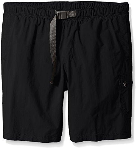 Columbia Men's Palmerston Peak Short, Waterproof, UV Sun Protection, Black, 4X x 9