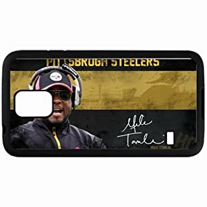 Personalized Samsung S5 Cell phone Case/Cover Skin 1398 pittsburgh steelers Black