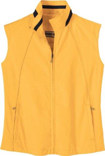 Womens Full Zip Wind Vest - 1