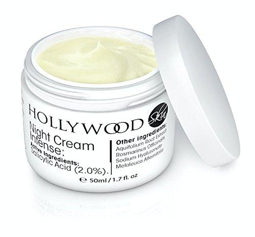 INTENSE Acne Cream - 2% Salicylic Acid!! Night Cream Intense - Overnight acne treatment. 400% STRONGER than regular acne creams. 60ml Bottle