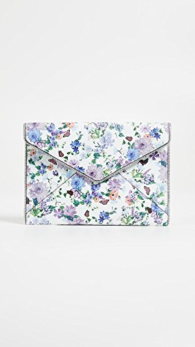 Leo Rebecca Clutch Floral Perforated Minkoff Multi UHW5HZznPB