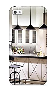 Hot Design Premium BvbjvDP2759VKEpx Tpu Case Cover Iphone 5c Protection Case(kitchen Pass Thru With White Cabinets Amp Pendant Lights)