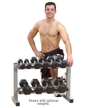 Powerline PDR282 X 32-Inch 2-Tier Dumbbell Rack by Powerline