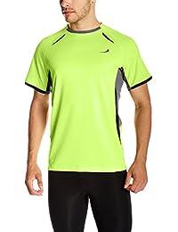 Goodsport Men's Polyester Round-Neck Short Sleeve Tee