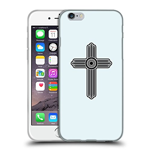 "GoGoMobile Coque de Protection TPU Silicone Case pour // Q07980619 Christian Cross 23 Bulles // Apple iPhone 6 PLUS 5.5"""
