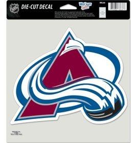 - WinCraft NHL Colorado Avalanche Die-Cut Color Decal, 8