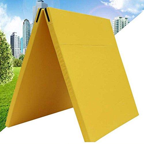 Wly&Home Tapis De Sol Souple Tapis De Gymnastique Tapis De Yoga Tapis De Gymnastique Tapis De Protection Tapis De Fitness Pliable Portable