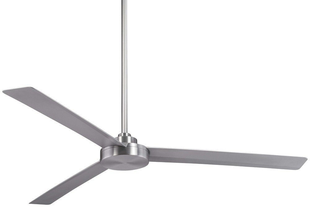 Minka Aire F624-ABD Roto XL, 62'' 3-Blades Ceiling Fan in Brushed Aluminum Finish with Silver Blades by Minka Lavery