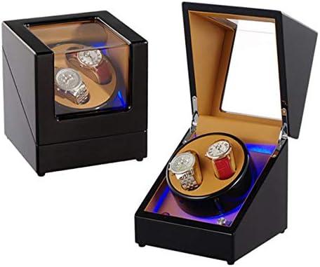 QIALPEG Caja Giratoria para Relojes Automatico con Tranquilo Motor ...