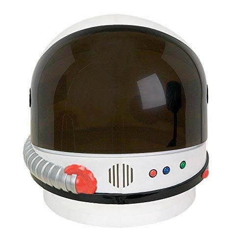UHC Official Nasa Astronaut Helmet Halloween Costume Accessory (Adult Astronaut Helmet)