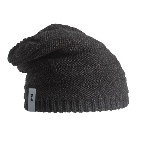 Turtle Fur Sheik Yerbouti Men's Fleece Lined Slouchy Wool Beanie Black