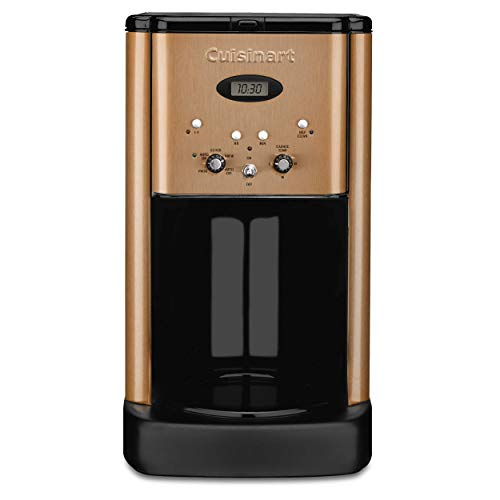 Cuisinart DCC-1200CP 12 Cup Brew Central Coffee Maker, Copper (Renewed)