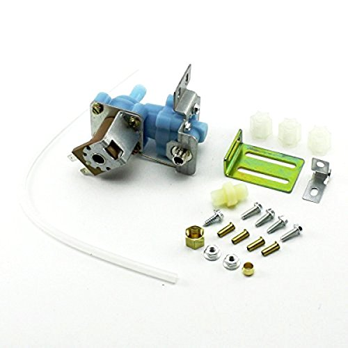 Price comparison product image NEBOO WV8047 Refrigerator Icemaker Water Solenoid Valve for 4318047 Whirlpool Kenmore