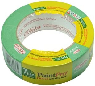 Green Medium Tack Masking Tape 48mm x 55m Lines of Pinner Paint Pro