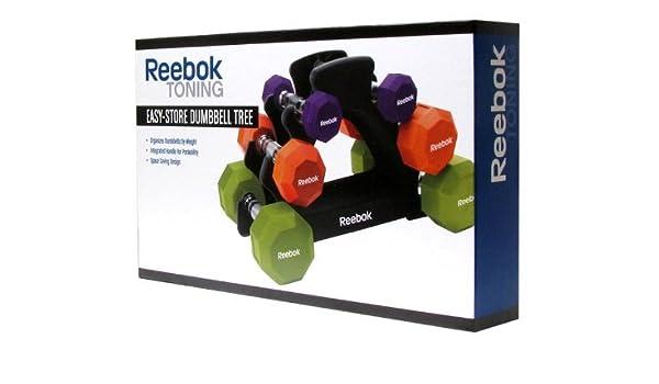 Reebok - Mancuerna easy-store Árbol: Amazon.es: Deportes y aire libre