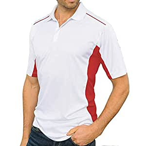 Santhome Red Sport Top For Men