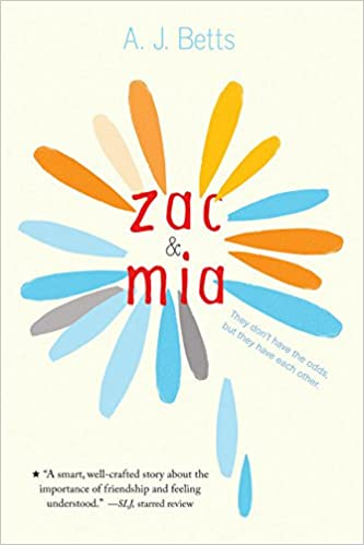 Image result for zac and mia book cover