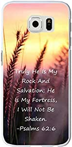 Caitin Truly He Is My Rock And Salvation Cell Phone Cases Cover for Samsung s6