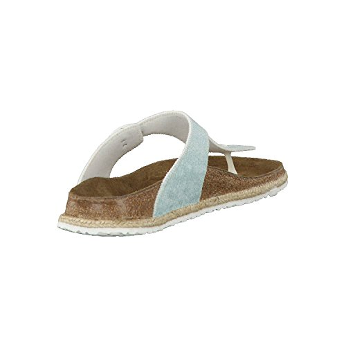 beach Birko Papillio Flor Gizeh Chanclas blue para light 1004250 Mujer S5Y5qr