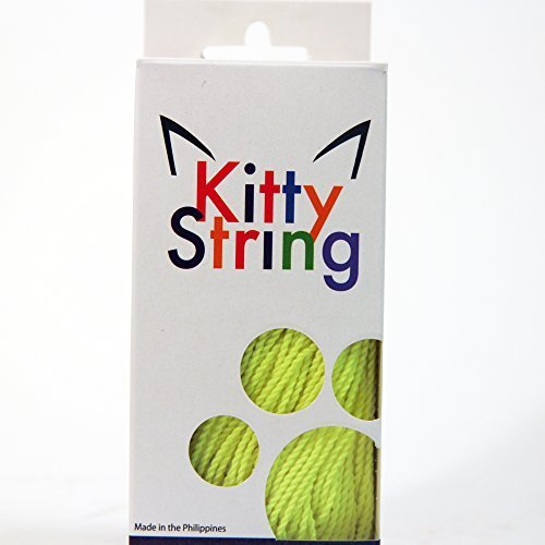 Kitty String Yo-Yo String 100 Pack - FAT - Neon Yellow by Kitty String
