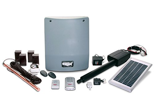 edium 300 Solar Charged Automatic Gate Opener Single Gate Fully Automated Kit ()