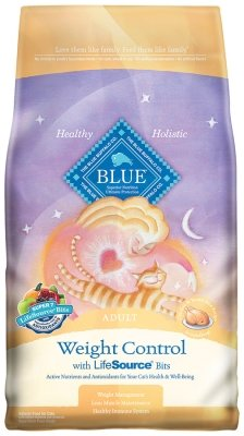 """WEIGHT CONTROL CAT CHICKEN & BROWN RICE """"Ctg: OTHER PET FOODS - BLUE BUFFALO CAT DRY"""""""