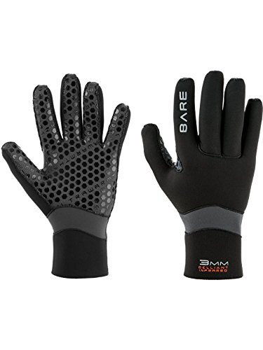 Bare 5mm Ultrawarmth Gloves (X-Small) by Bare
