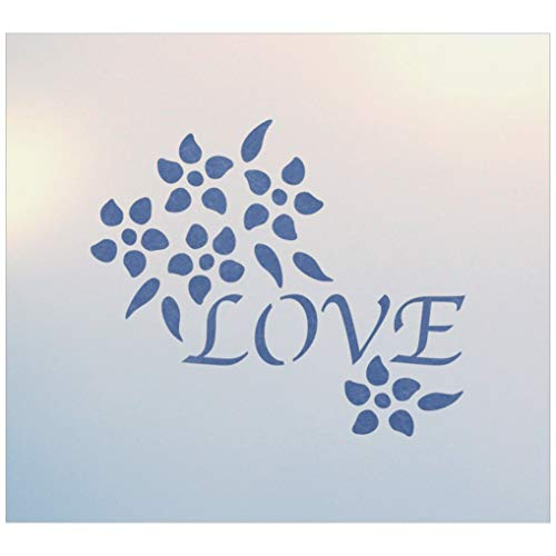 (Love Ring Pillow Stencil - The Artful Stencil)