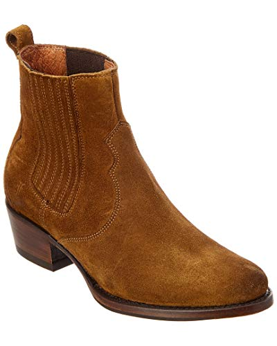 FRYE Women's Diana Chelsea Boot, Wheat Soft Oiled Suede, 9 M (Suede Oiled Boots)