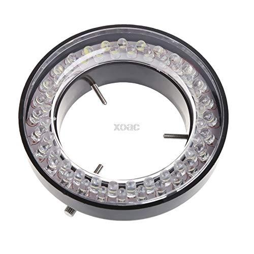 KINWAT 60 LED Adjustable Ring Light illuminator Lamp for STEREO ZOOM Microscope EU Plug M05 dropship