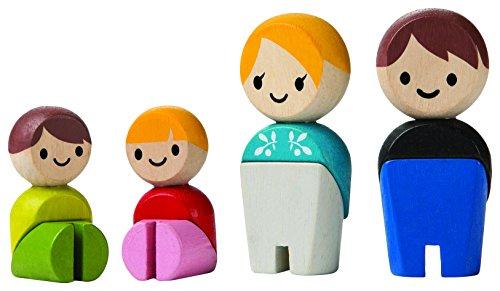 PlanToys Wooden Family (European)