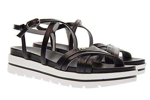 Black Sandales Giardini P805850d Femmes Nero 100 Pour Compensées Hq6748