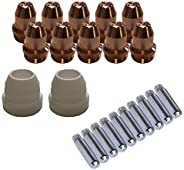 Lotos LCS22 Plasma Cutter Consumables Sets for Brown Color LT5000D and Brown Color CT520D (22 Pieces)