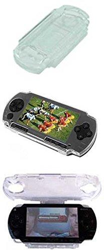 SATKIT PSP Carcasa PLASTICO Protectora Transparente: Amazon ...
