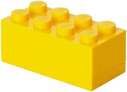 Lego Mini Lunch Box 8 Yellow