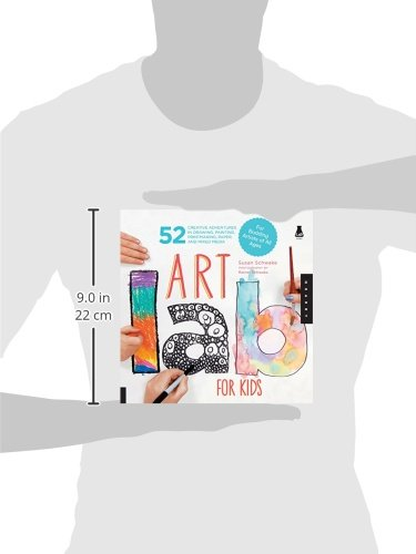 Art Lab for Kids: 52 Creative Adventures in Drawing, Painting, Printmaking, Paper, and Mixed Media-For Budding Artists of All Ages (Lab Series) by Quarry Books (Image #3)