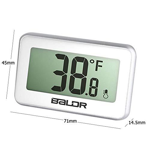 LCD Digital Mini Refrigerador Termómetro Frigorífico Imán de Sonda ...