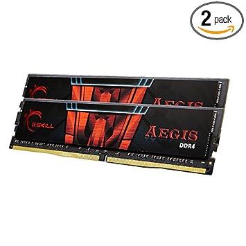 G.Skill Aegis 16GB (2 x 8GB Dual Channel Kit) 2133 MHz DDR4 Desktop Memory (F4-2133C15D-16GIS)