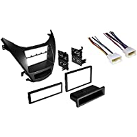 Elantra Car Stereo Radio CD Player Dash Mounting Installation Kit With Wire Harness