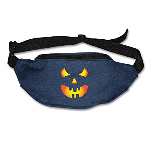 Travel Fanny Bag Pumpkin Halloween Waist Pack Sling Pocket Super Lightweight for Travel]()