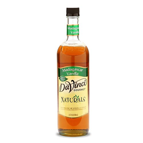 DaVinci Gourmet Natural Coffee Syrup, Madagascar Vanilla, 25.4 Ounce Bottle