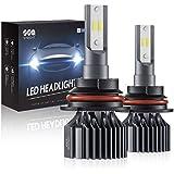 9007 HB5 Led Headlight Bulbs, SEALIGHT Upgraded Super Bright 24xCSP Led Chips Headlight Kit-Hi/Lo Beam 6500LM 6000K White (Pack of 2)