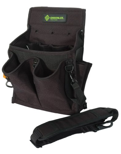 Greenlee 0158-15 Tool Caddy, 20 Pocket (Greenlee Tool Pouch)